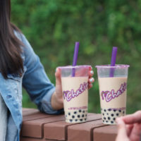 pair of chatime drinks